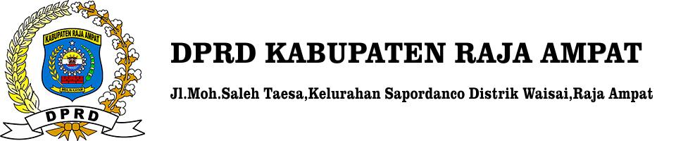 DPRD Kabupaten Raja Ampat